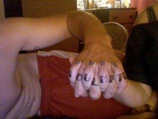 32 Cheesy Couple Tattoos(Photos)