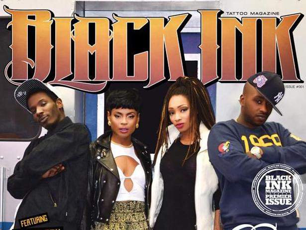 VH1 star Ceaser starts a new Black Ink Magazine!