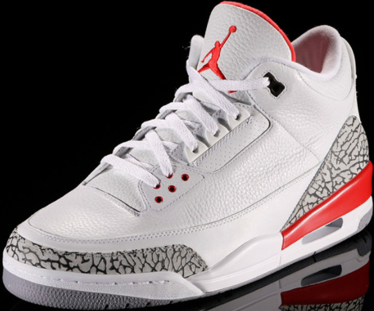 """buy popular db6fb fd4f6 In addition to the Wolf Grey and Sport Blue colorways, Air Jordan will be  releasing yet another 3 Retro colorway, dubbed the """"Katrina""""."""