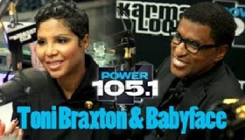 Toni Braxton and Babyface opens UP! (video)