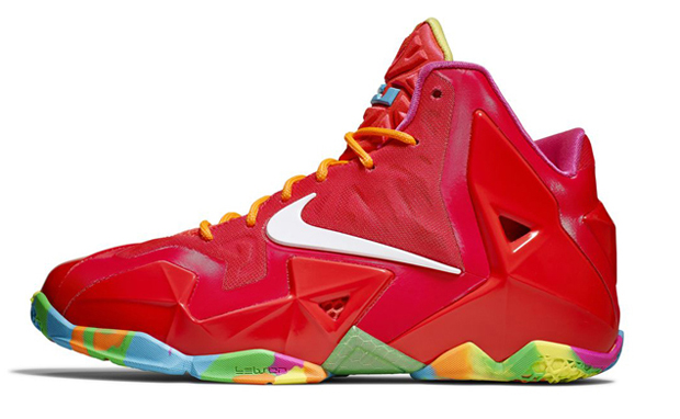 nike-lebron-11-gs-laser-crimson-Nike