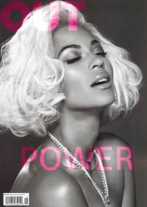 Beyonce-Outcover