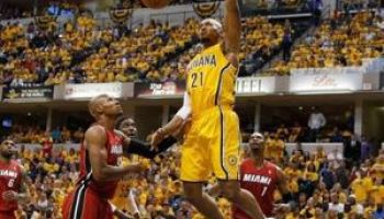 YES! George Sparks Pacers To Game One Win Over Heat!