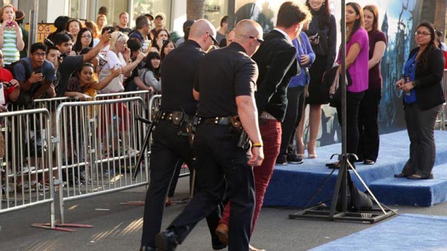 Really?!?! Brad Pitt Gets HIT!
