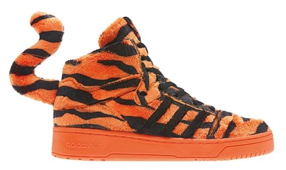 "Jeremy Scott x Adidas JS Instinct Hi ""Tiger"" | 101 1 The Wiz"