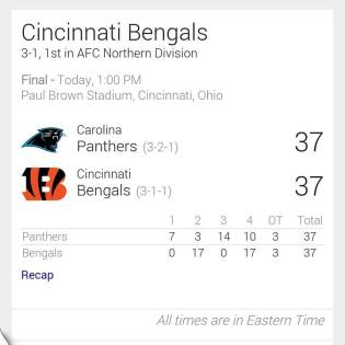 YES!!! WHO DEY!!! CONGRATS BENGALS!!