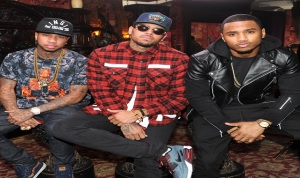 Between the Sheets Tour Announcement with Chris Brown and Trey Songz