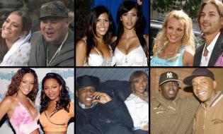 throwback pics mashup hip pop celebrities 2005