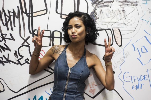 Jhene Aiko Visits Music Choices