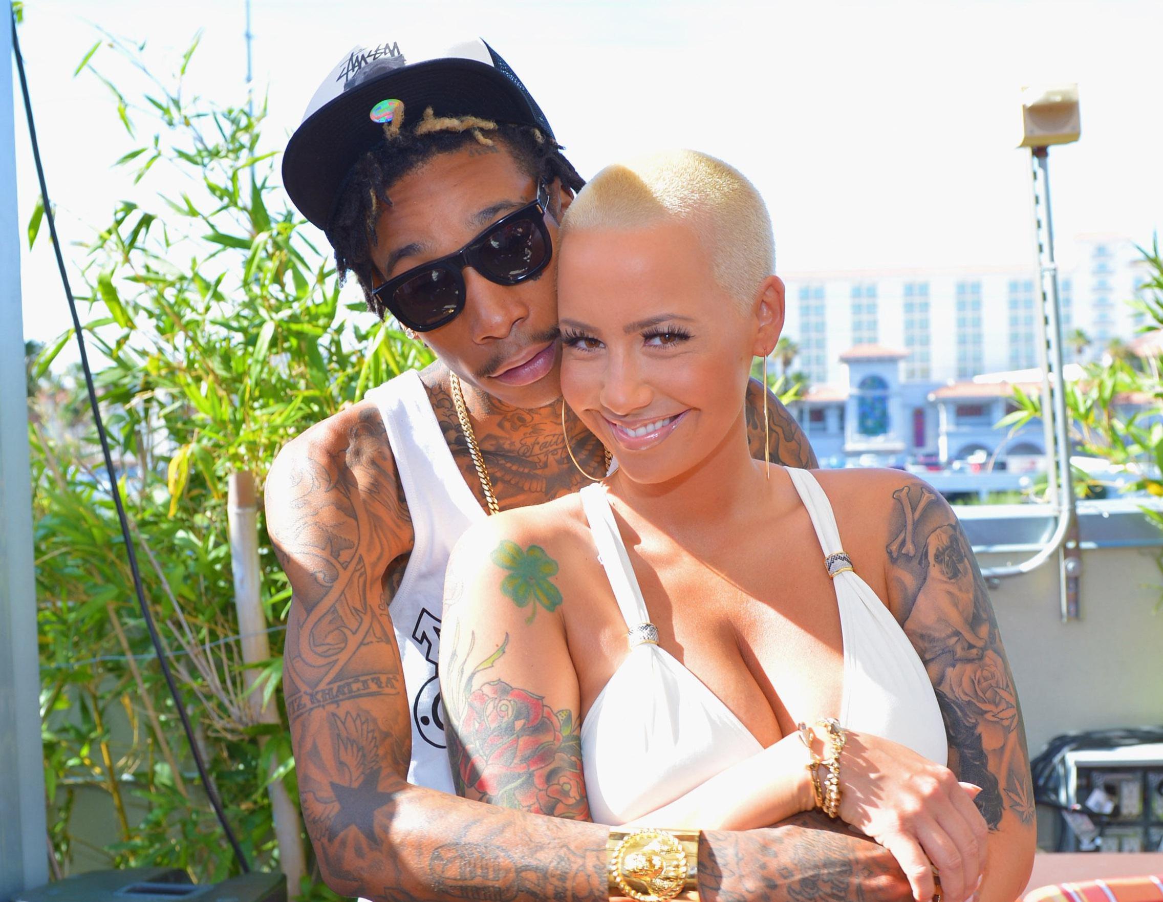 Wiz Khalifa Kicks Off Memorial Day Weekend At Palms Pool In Las Vegas