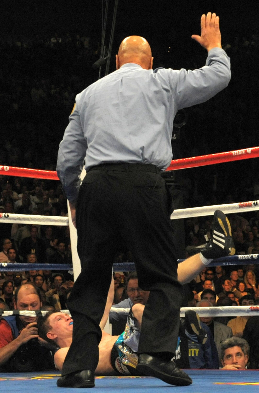 British Ricky Hatton falls by KO during