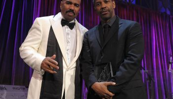 Steve Harvey Hosts NY Gala Benefiting Steve Harvey Foundation - Inside