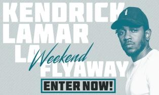 Kendrick Lamar LA Flyaway Weekend