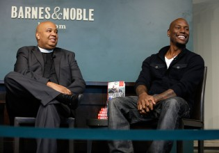 Rev Run And Tyrese Gibson Sign Copies Of Their Book 'Manology: Secrets of a Man's Mind Revealed'