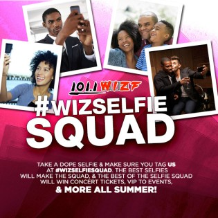 Wiz Selfie Squad June/July 2015