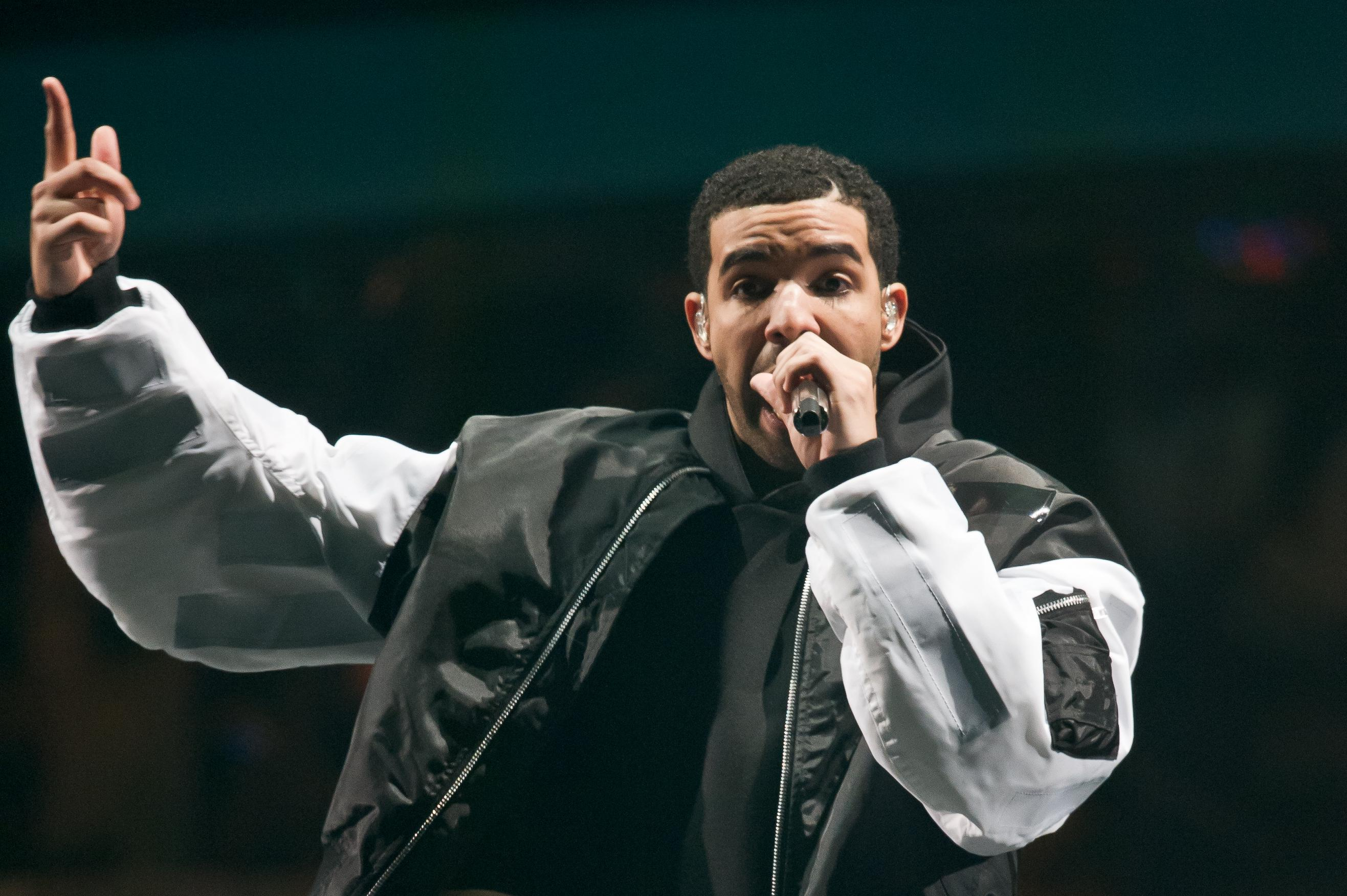 Drake Performs At O2 Arena In London