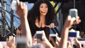 Nicki Minaj Performs On ABC's 'Good Morning America'