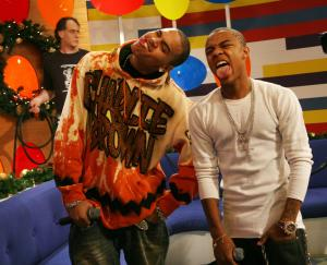 Chris Brown and Bow Wow Visit BET's '106 & Park' - December 18, 2006