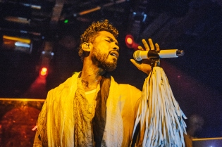 Miguel Performs At XOYO In London