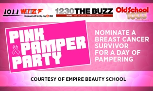 PINK PAMPER PARTY BREAST CANCER SURVIVORS SPA DAY