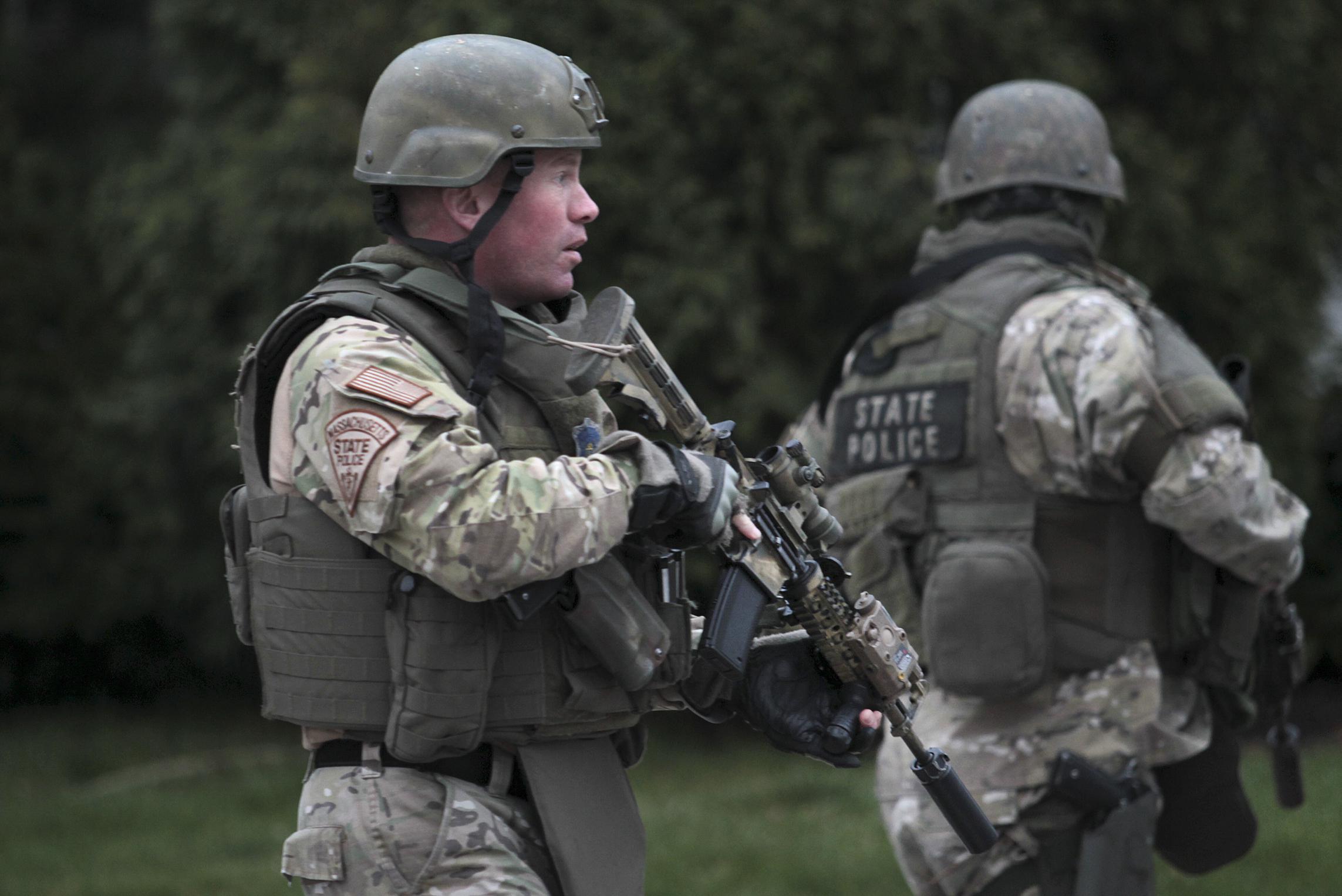 Manhunt Underway For Marathon Bombing Suspect