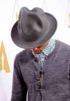 Did Jay Z Black Pharrell WIlliam's Eye???