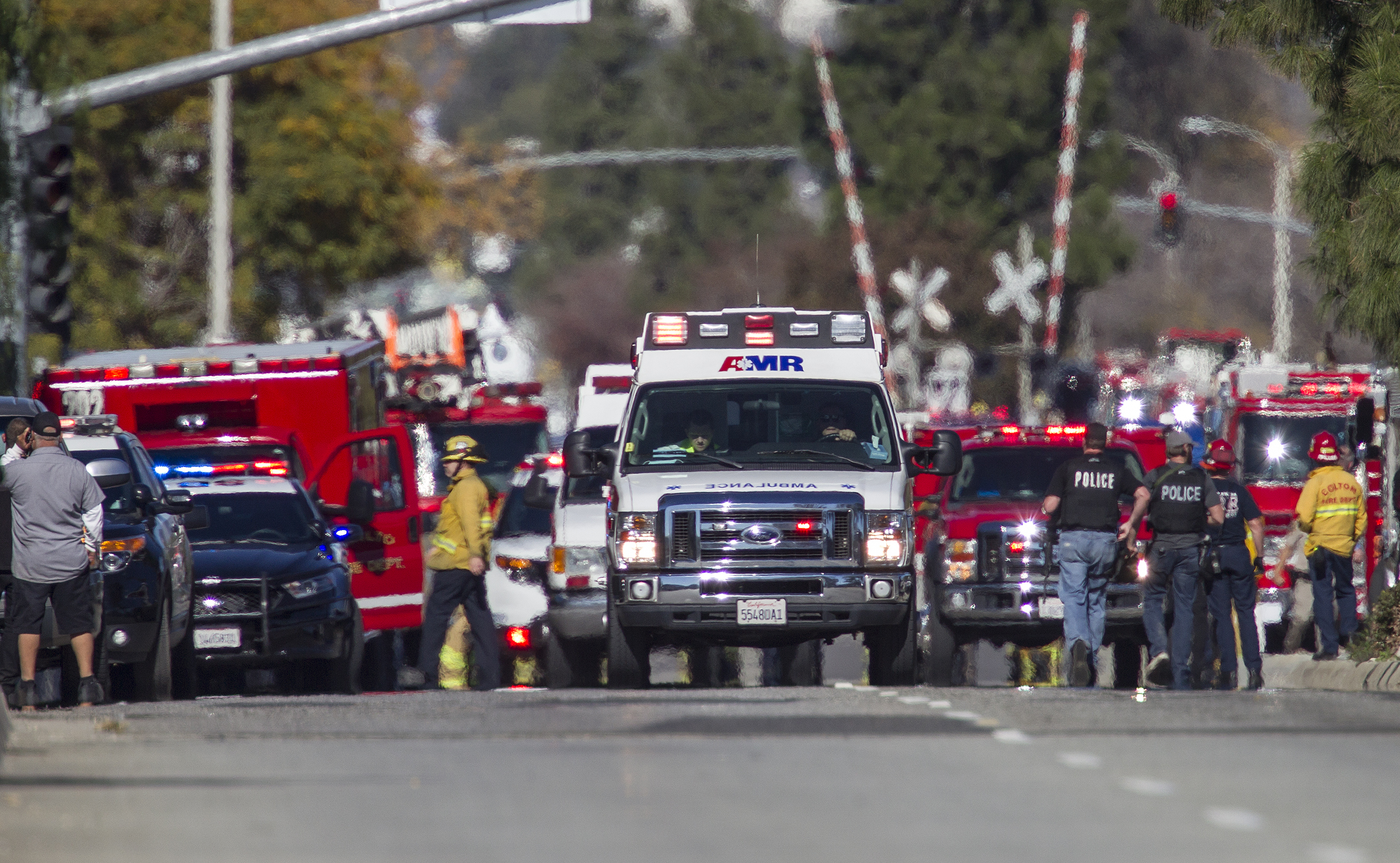 Mass Shooting In San Bernardino Leaves At Least 12 Dead, 30 Wounded