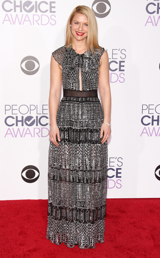 Claire Danes wearing chainmail