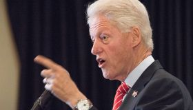 Bill Clinton campaigns for Hillary in New York City. In...