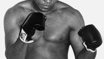 A portrait of Muhammad Ali