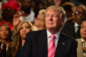 Donald Trump's Visit To Detroit Church