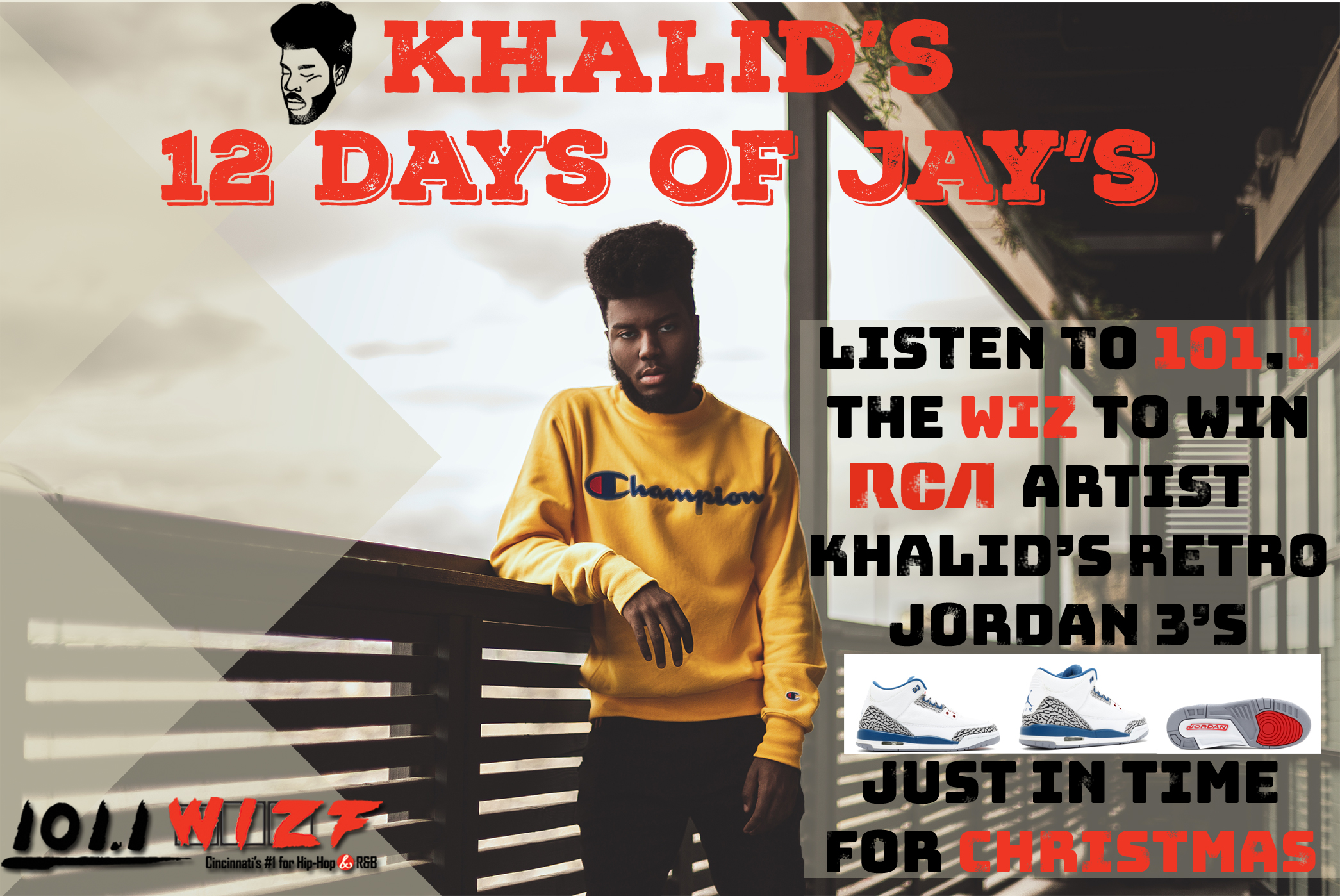 KHALID'S 12 DAYS OF J'S