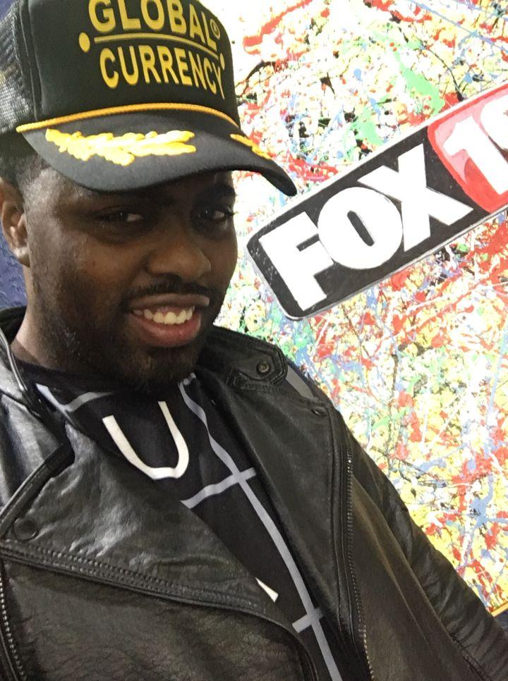 King Sharif at Fox 19