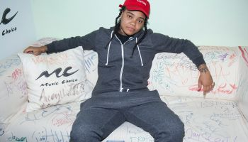 Rapper Young MA Visits Music Choice