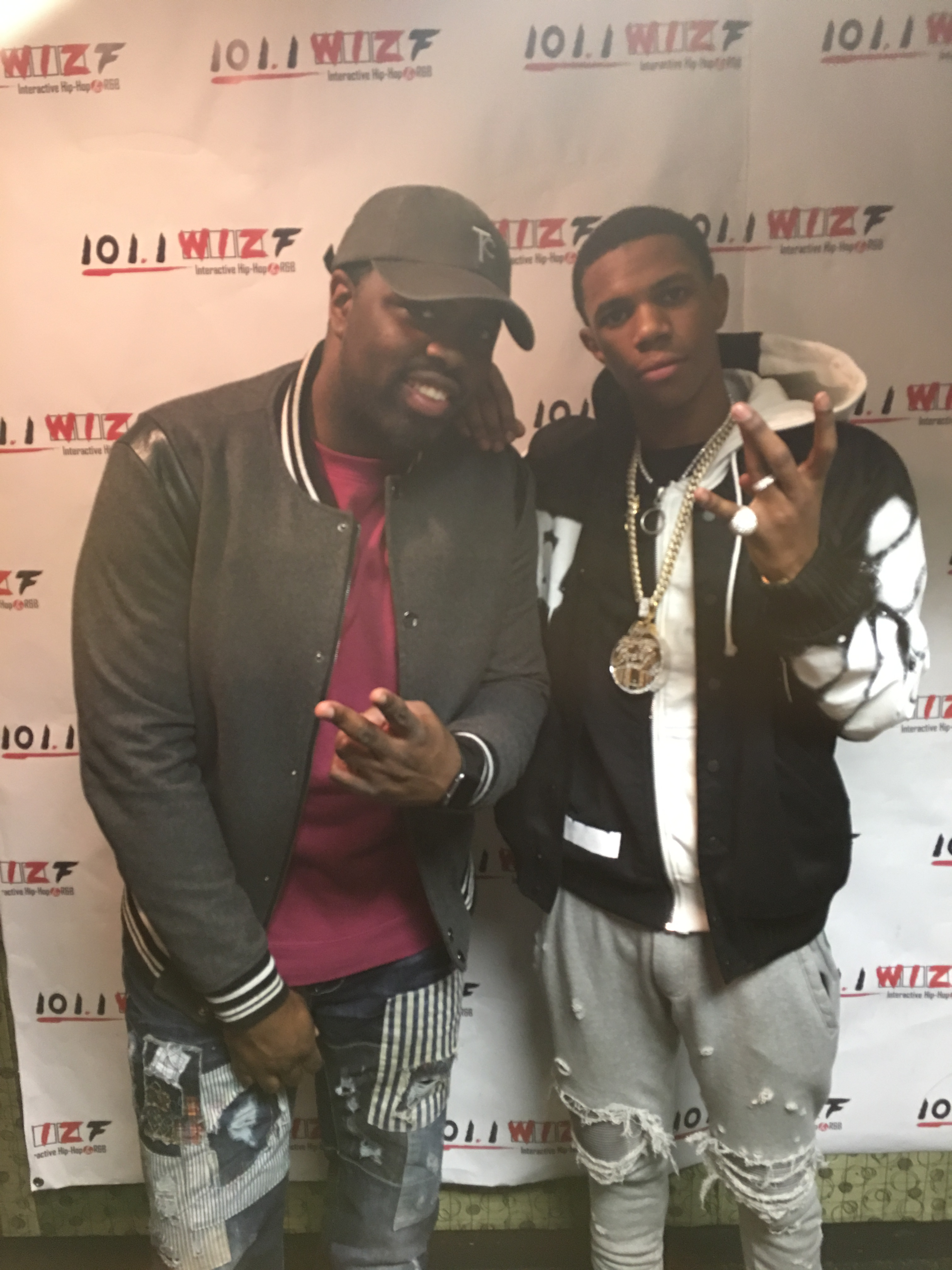 A-Boogie interview on 101.1 The wiz