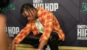Travis Scott at the 2015 BET Hip-Hop Awards