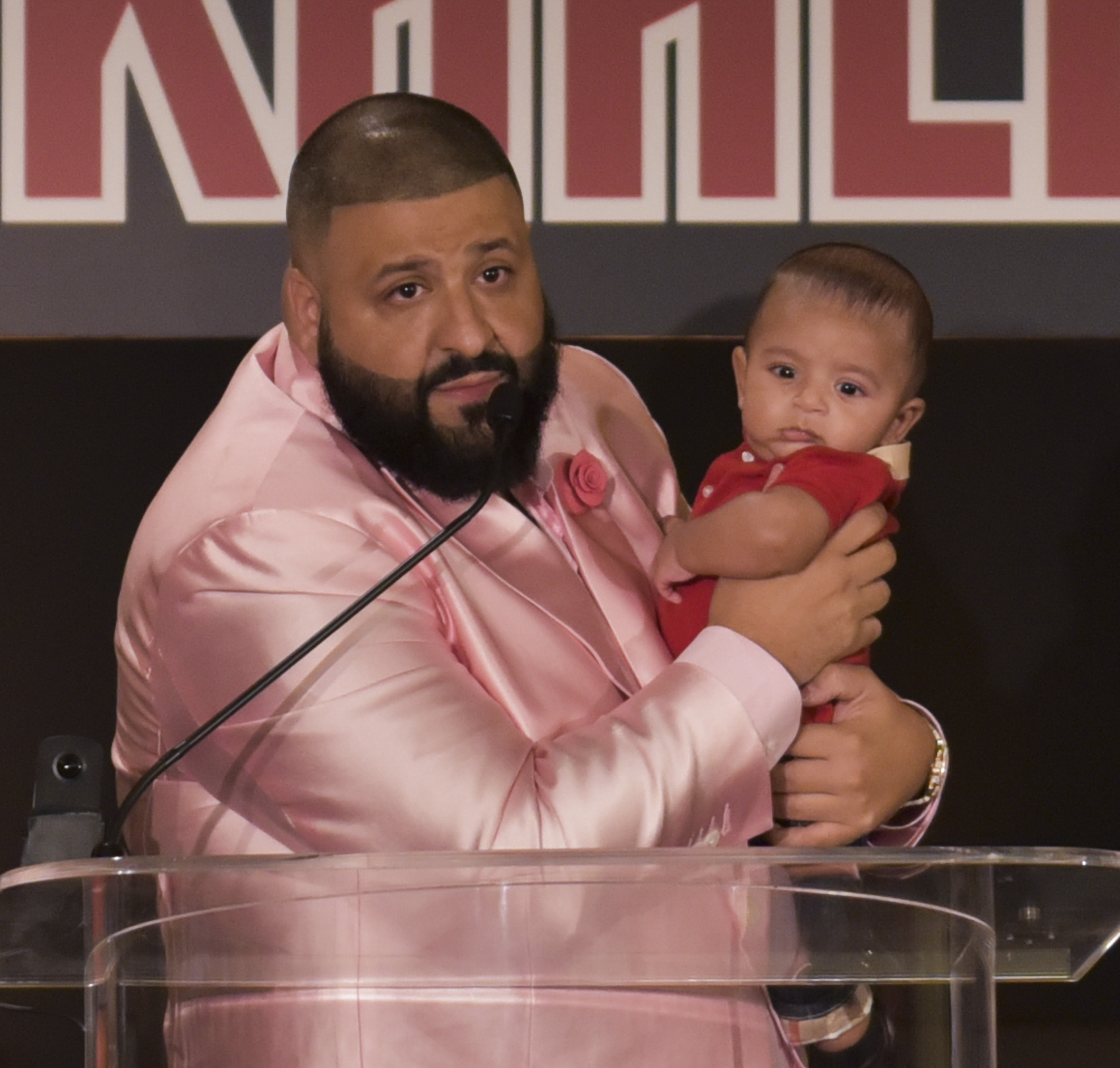 DJ Khaled Holds Special Press Conference
