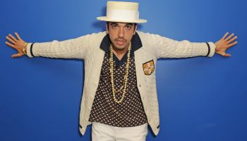 DJ Cassidy Visits Y 100 Radio Station