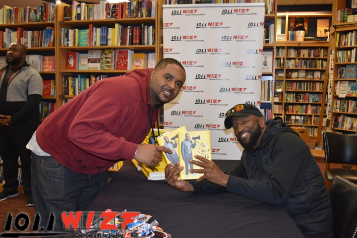Rickey Smiley Book Signing