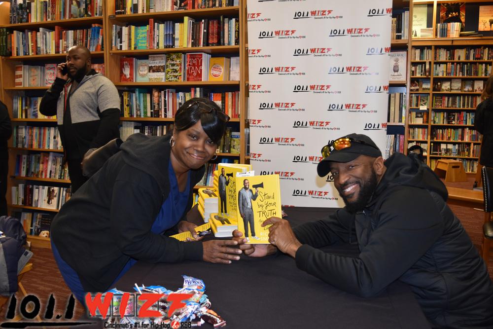 Rickey Smiley Book Signing