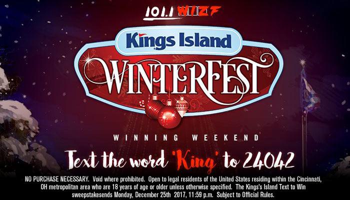 Kings Island Winter Fest Winning Weekend