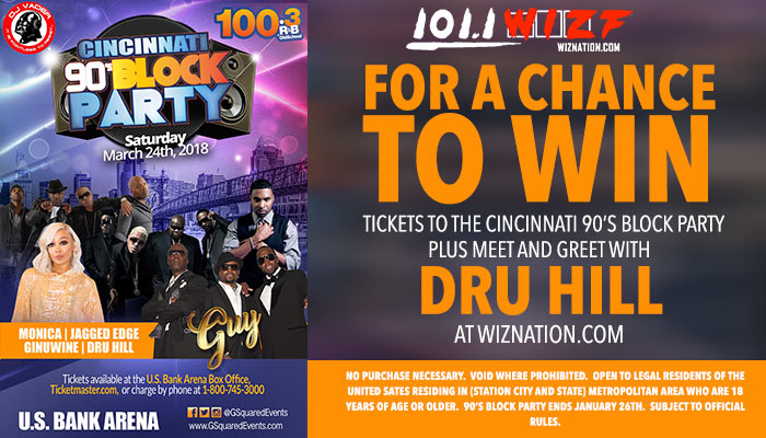 90s Block Tour Meet & Greet Dru Hill
