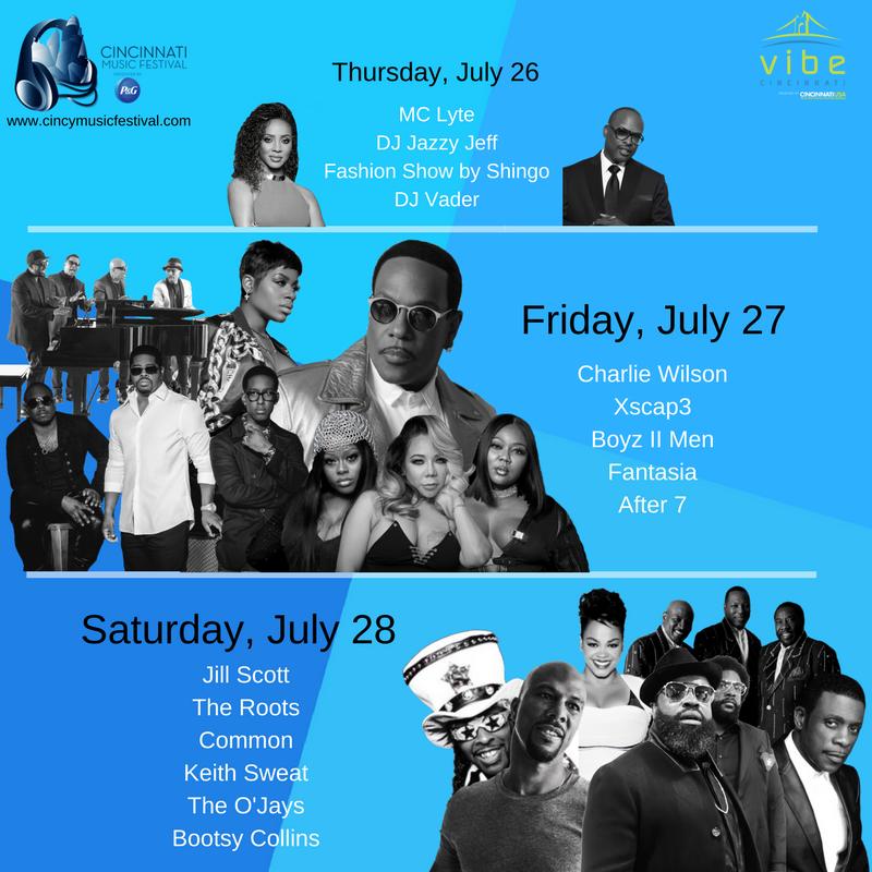 Cincinnati Music Festival 2018