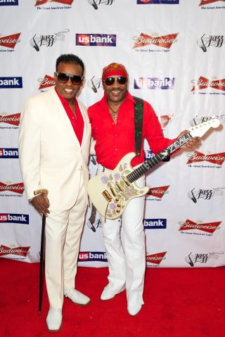 The Isley Brothers perform at the Long Beach Jazz Festival