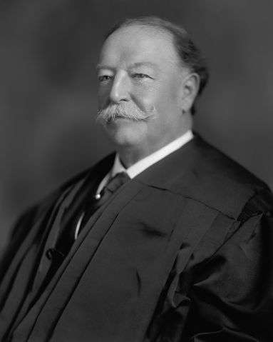 William Howard Taft, Head and Shoulders Portrait as Chief Justice of the U.S. Supreme Court, Harris & Ewing, 1921
