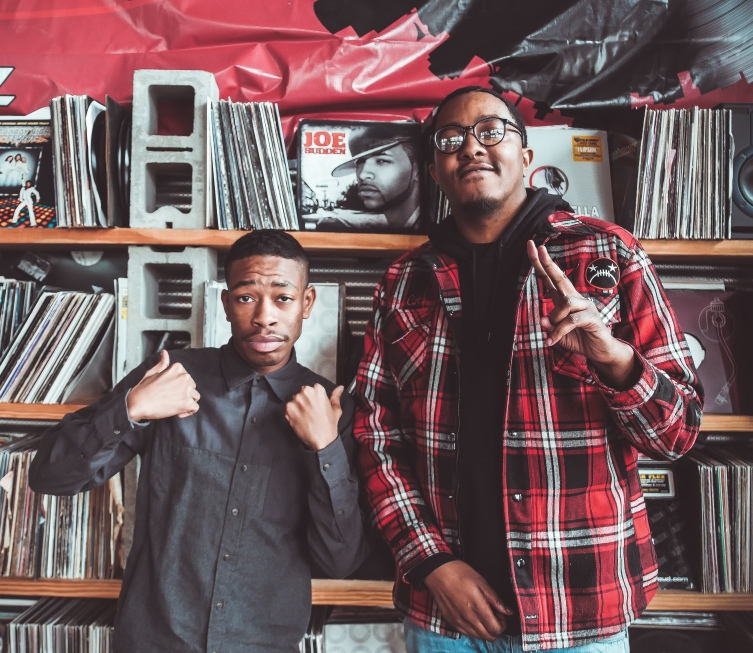 Tatum and Producer Sal Dali