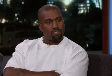 Kanye West on Kimmel