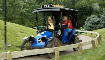 Kings Island Antique Cars