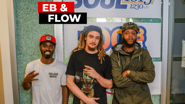 Eb & Flo DJ J Dough Freestyle Friday