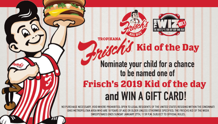 FRISCHS KID OF THE DAY SWEEPSTAKES Feature